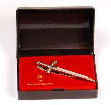 Vintage 1960's/70's Stratton Sword-shaped Tie Clip
